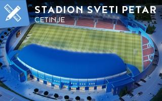 Nowy projekt: Nowoczesny stadion w dawnej stolicy Czarnogóry