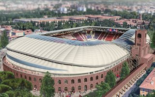 Bolonia: Wyczekiwanie na ostateczne zatwierdzenie stadionu