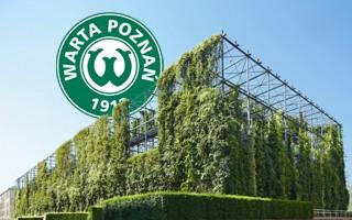 Poznań: Ogródek najbardziej eko stadionem Polski?
