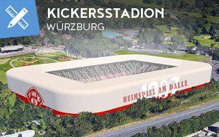 Nowy projekt: Kickers nie rezygnują z budowy stadionu pomimo spadku
