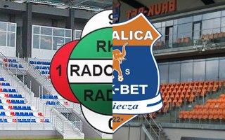 Ekstraklasa: Nieciecza i Radom (?) w najwyższej lidze