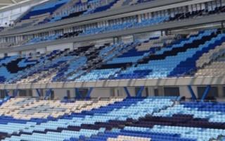 Australia: Aborygeńskie krzesełka na Sydney Football Stadium
