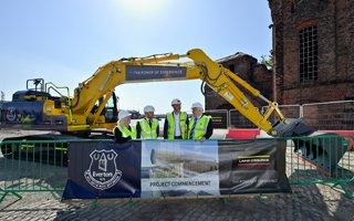 Liverpool: Budowa Evertonu już oficjalnie rozpoczęta