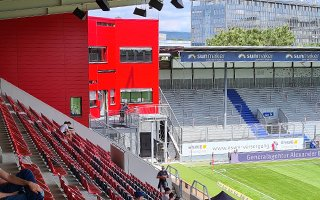 Niemcy: Brita-Arena przestała być blaszakiem