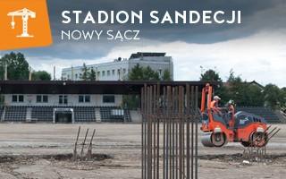 Nowa budowa: Stadion Sandecji (jeszcze) owiany tajemnicą