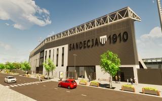 Nowy Sącz: Stadion Sandecji jednak z czterema trybunami?