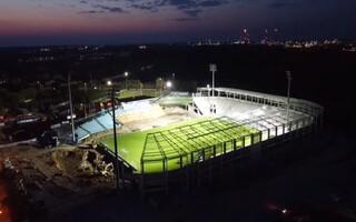 Płock: Stadion Wisły z nowym oświetleniem