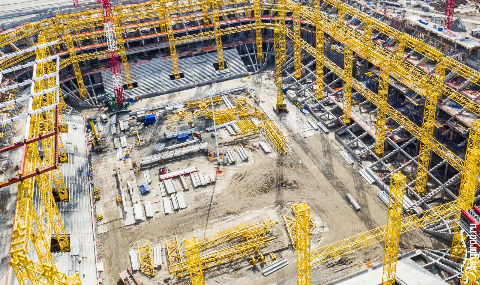 Когда построят стадион 2018