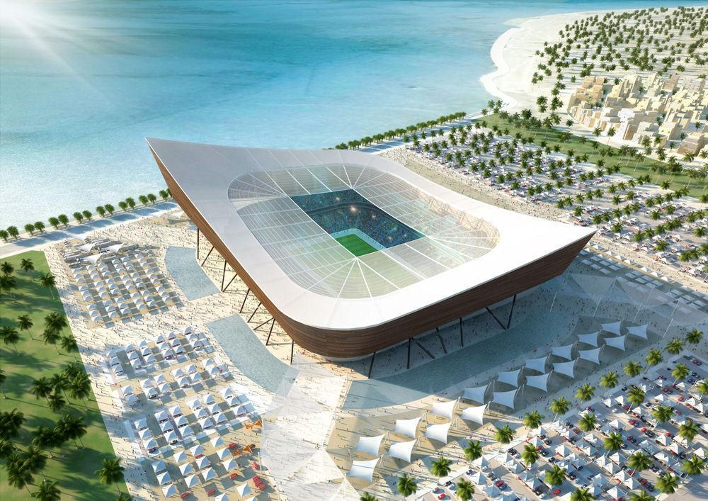 Projekt Al Shamal Stadium Stadiony Net