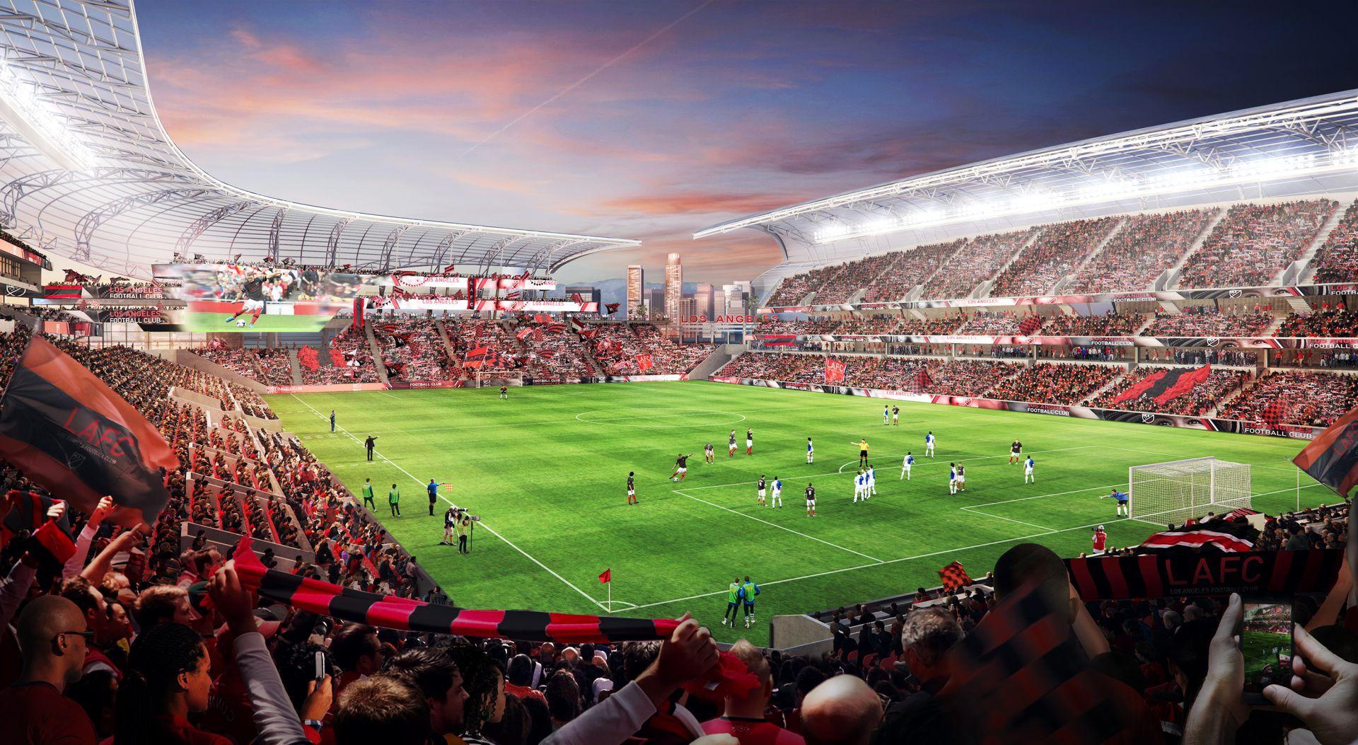 Projekt Banc Of California Stadium Stadiony Net