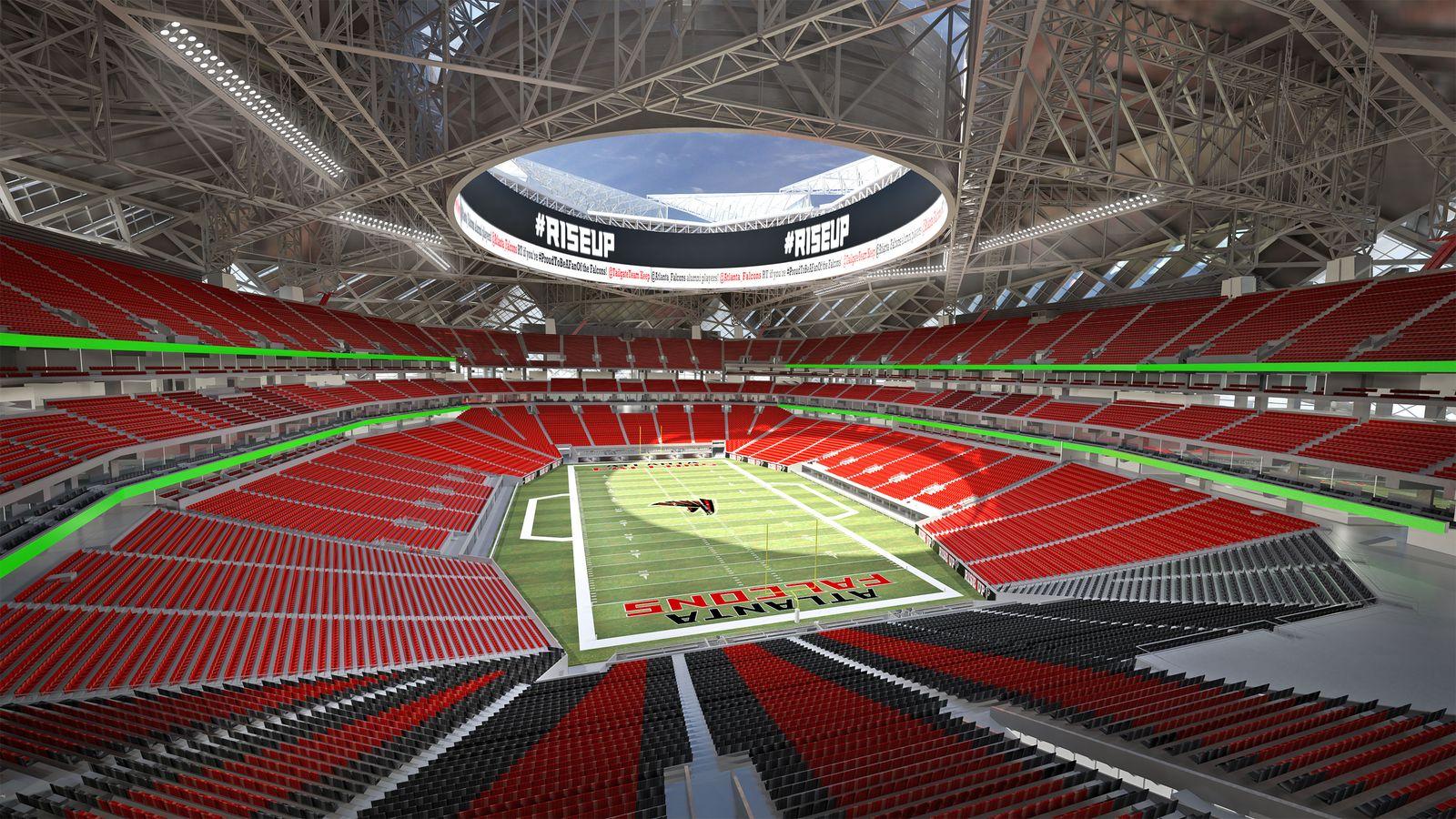 Projekt mercedes benz stadium for Falcons mercedes benz stadium