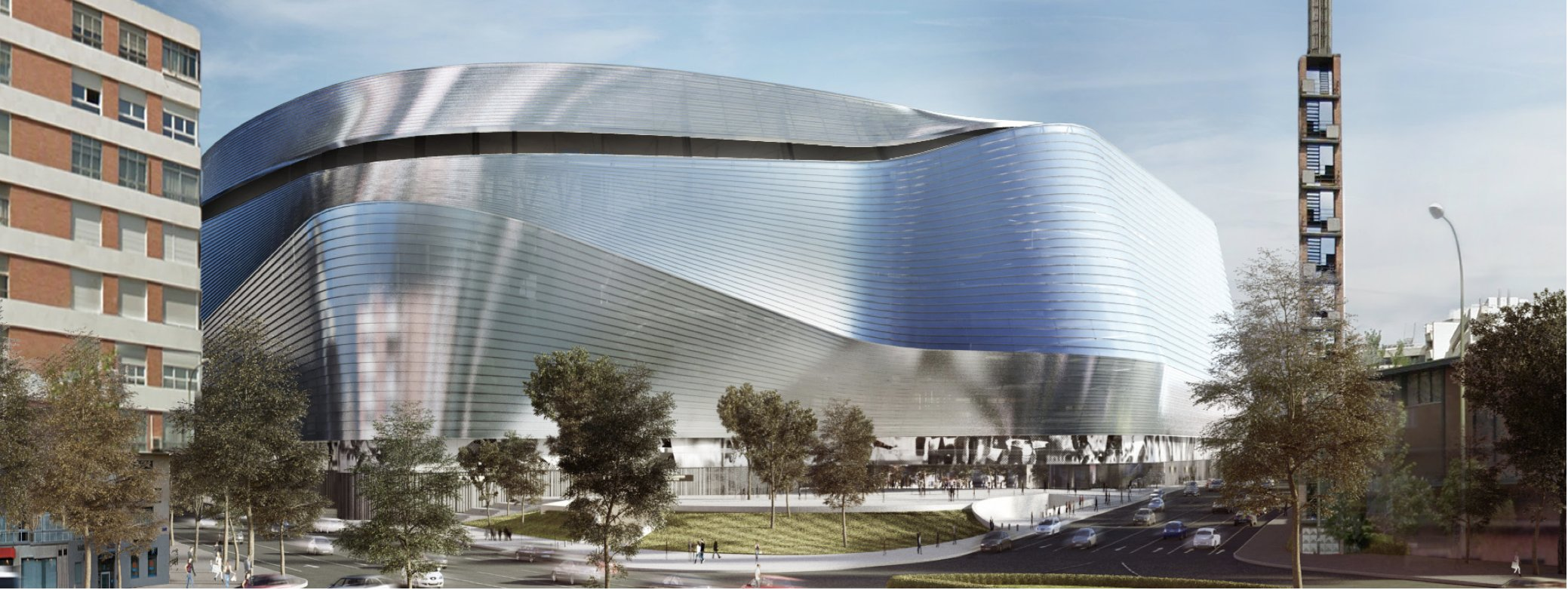 Projekt estadio santiago bernab u for Puerta 53 santiago bernabeu