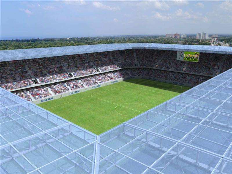 Projekt: Stadion Gradski Vrt – Stadiony.net