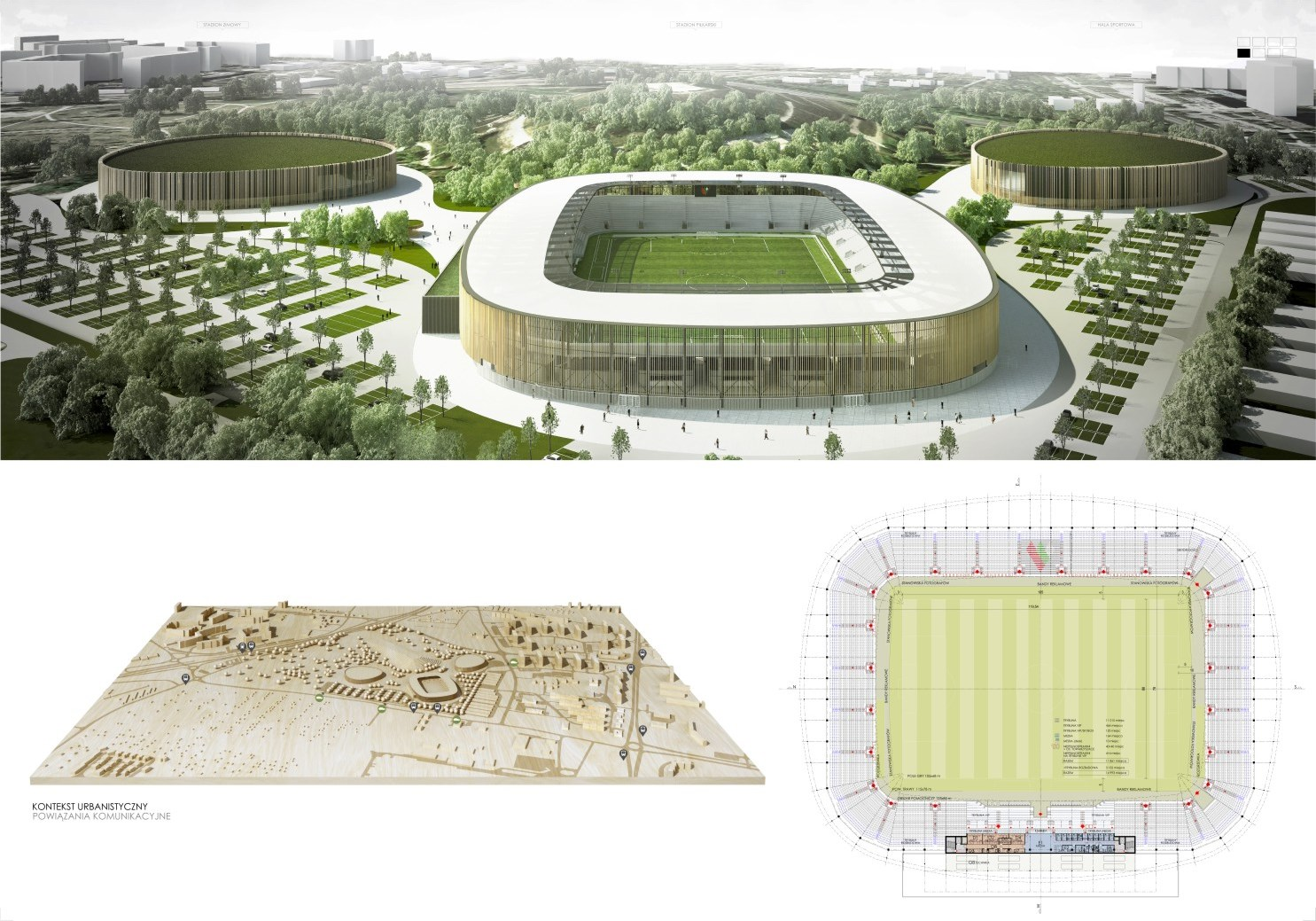 stadiony w budowie