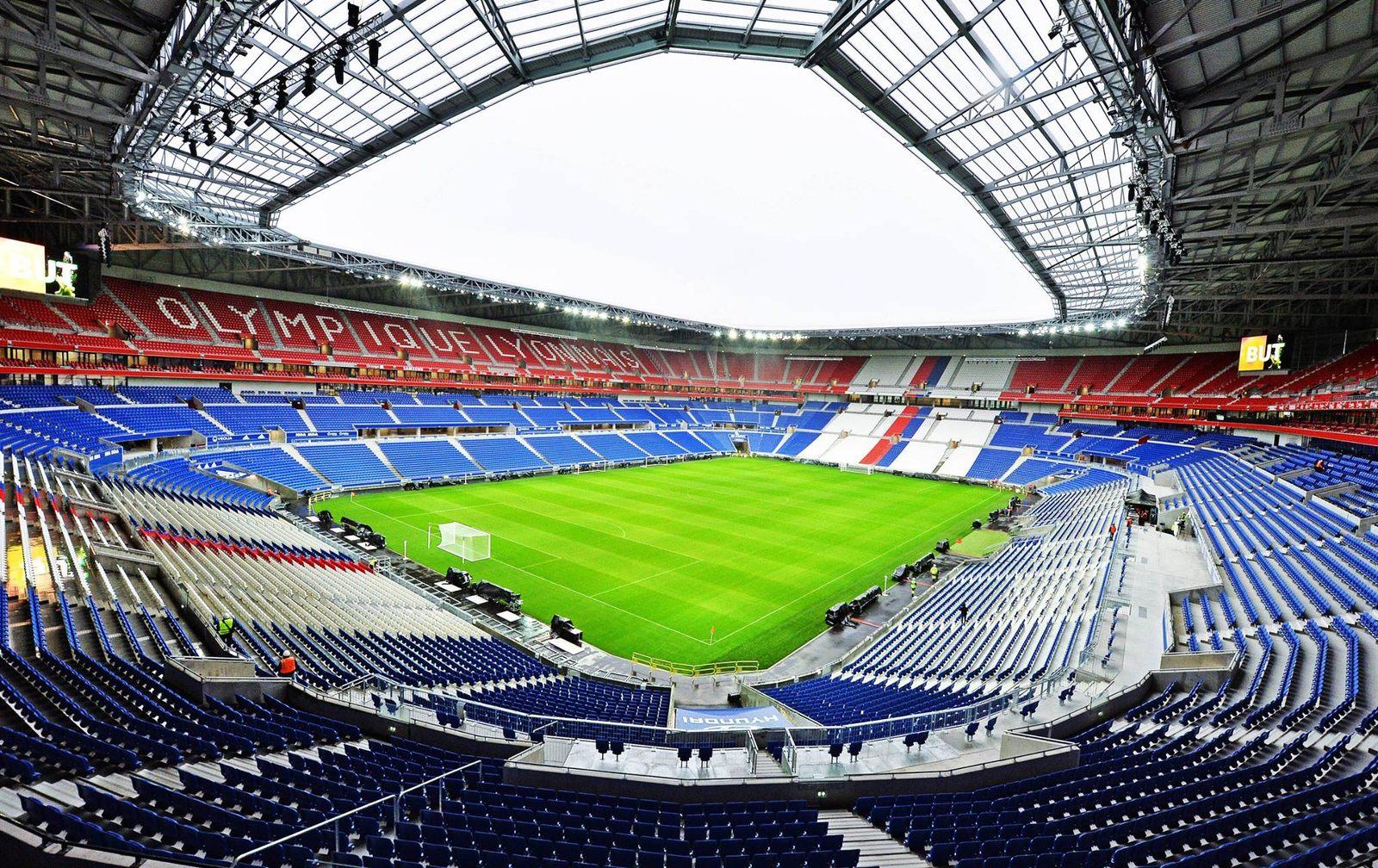 Znalezione obrazy dla zapytania Stadion Parc Olympique Lyonnais
