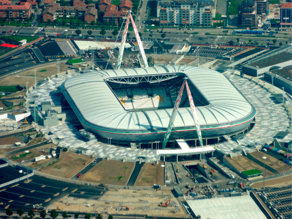 Allianz stadium of turin juventus stadium for Tabelle juventus turin