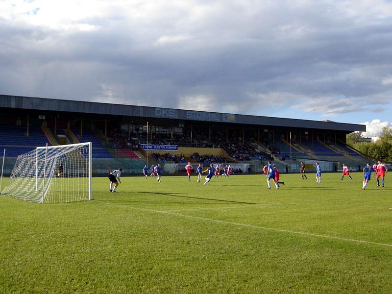 Stadion Osir W Olsztynie Stadion Stomilu Stadionynet
