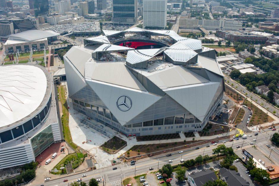 Mercedes Benz Stadium Stadiony Net