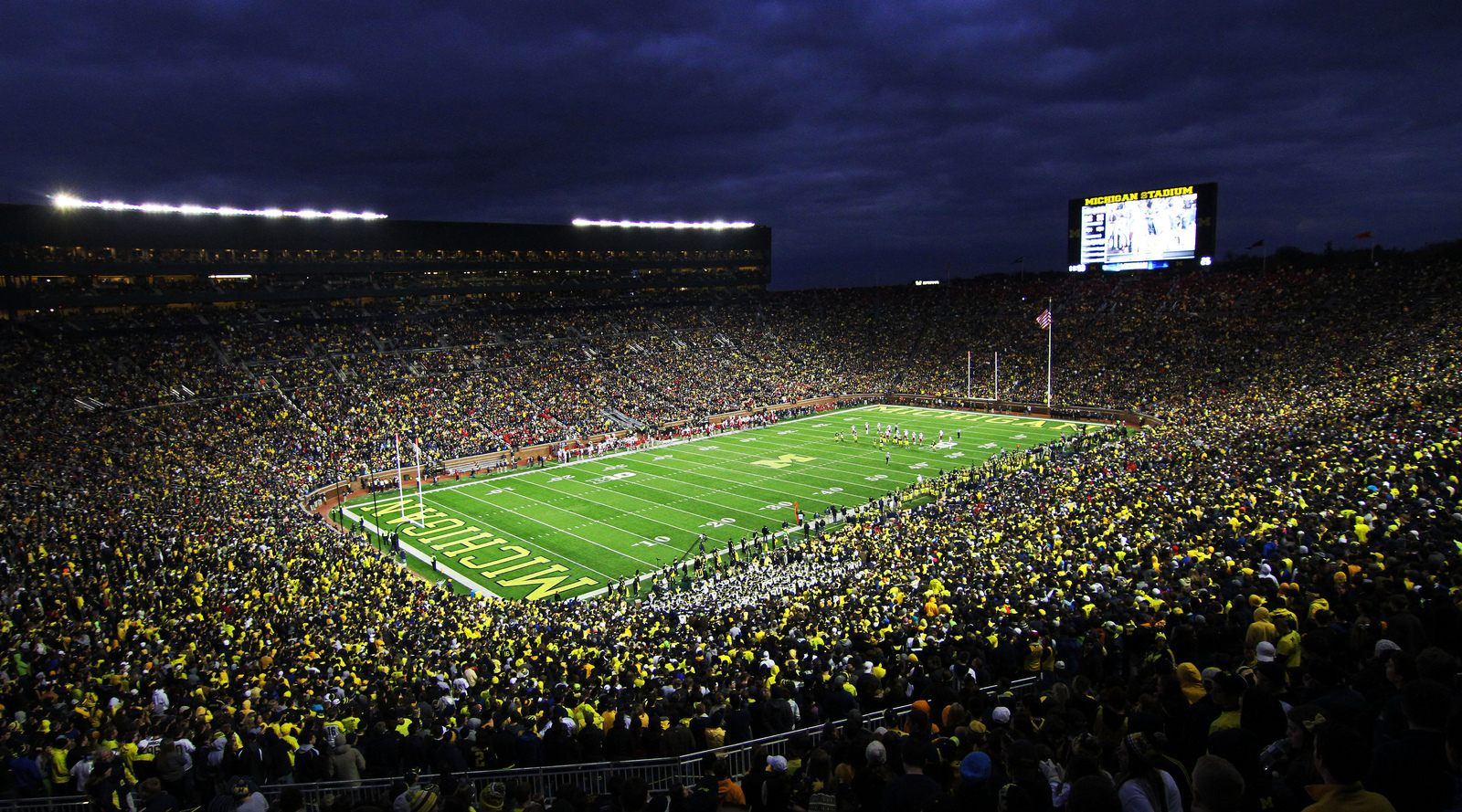 Michigan Stadium The Big House Stadiony Net