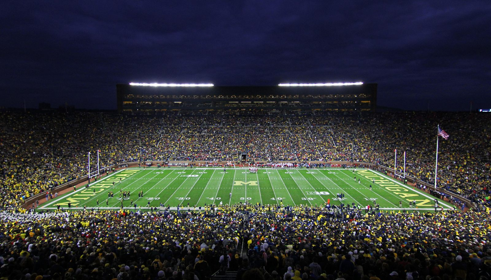 Michigan Stadium The Big House Stadiony Net